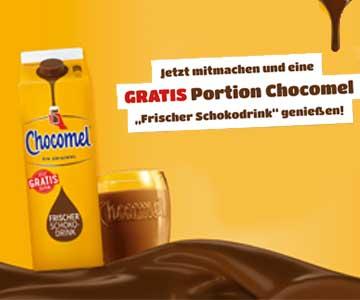 Gratis: Schoko-Drink von Chocomel