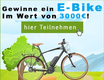 Gewinne eine E-Bike