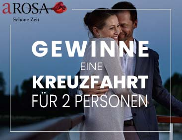 A-Rosa-Kreuzfahrt für 2 Personen gewinnen