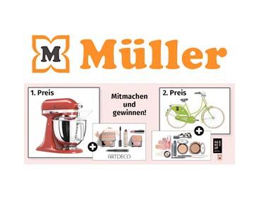 Müller: TOP-Gewinn-Pakete