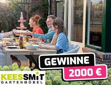 2000 € für Garten-Möbel